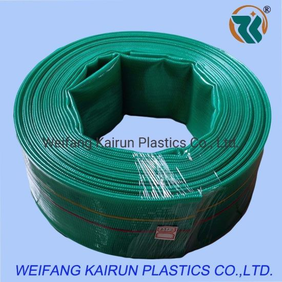 8 Inch Customized 6 Bar PVC Agriculture Trrigation Lay Flat Water