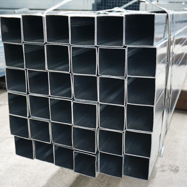 Q235 Galvanised Square Pipe Gi Square Steel Tube Galvanised Rectangular Pipes Full Form Gi Pipe in Stock