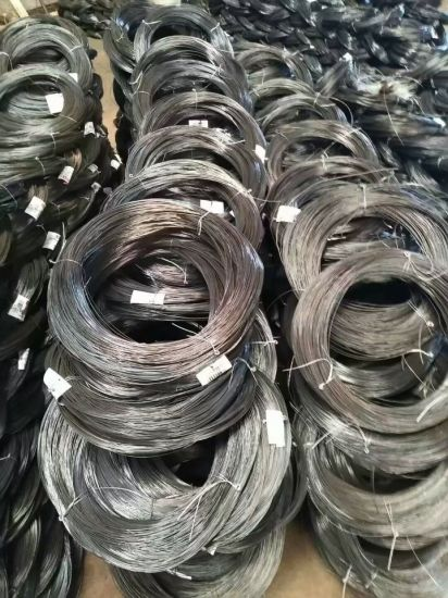 1.2mm 1.6mm Black Annealed Wire Binding Iron Wire for Construction High Quality