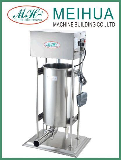 Manufacturer Supplier Electric Sausage Stuffer for Make Sausage 15L
