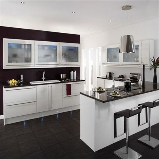 Kitchen Cabinet Ideas 2018: 2018 China New Modern Furniture Glossy MDF Kitchen Cabinet