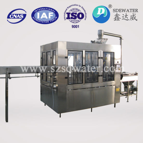 6000b/h 500ml Complete Water Production Line pictures & photos