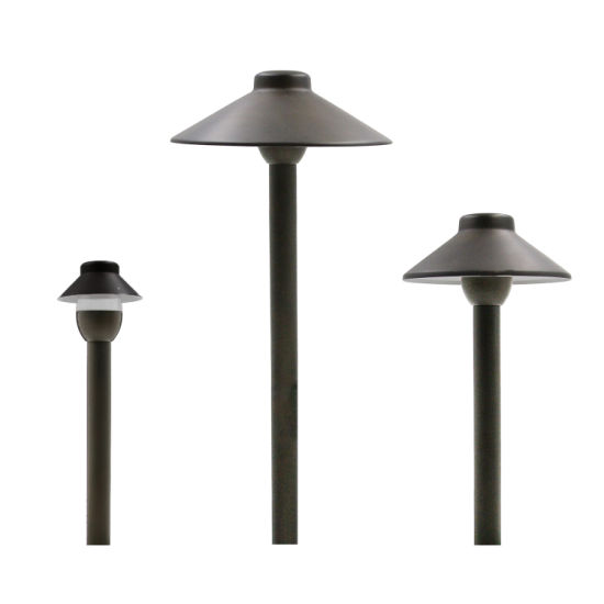 IP65 Outdoor Garden Light Brass Pathway Light 12V Lawn Light for China Factory Sales pictures & photos