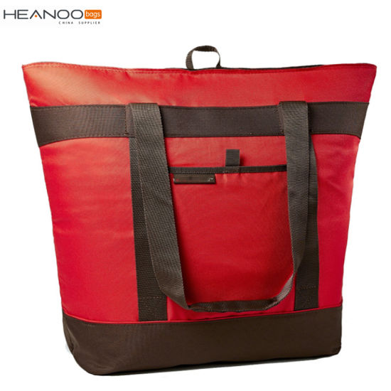 Jumbo Chillout Thermal Tote Custom Freezer Bag For Travel