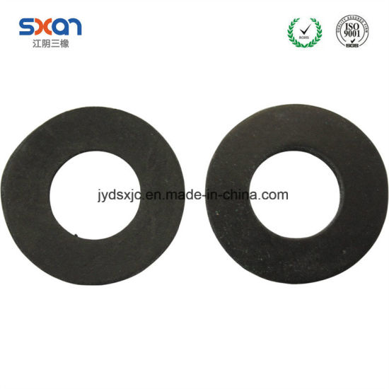 China Custom Make Silicone Round Flat Mbr FKM Heat Resistant Rubber ...