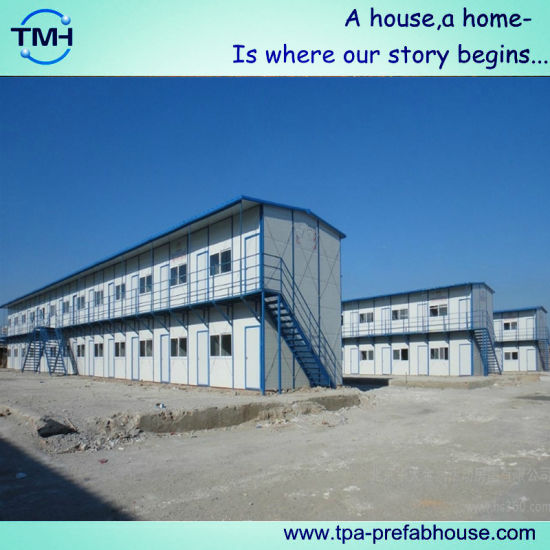 Prefab Temporary House for Labor Camp pictures & photos
