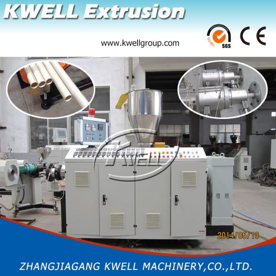 UPVC/PVC Pipe Extrusion Line, Plastic Extruder Machine for Sale pictures & photos