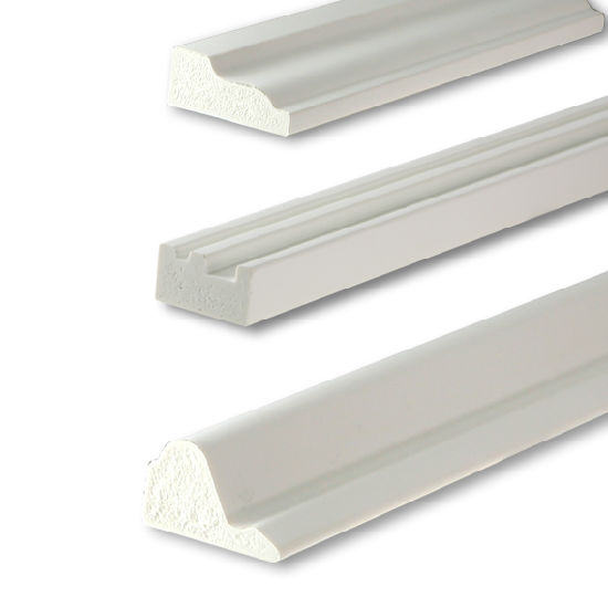 White Pvc Trim And Moulding For Ceiling