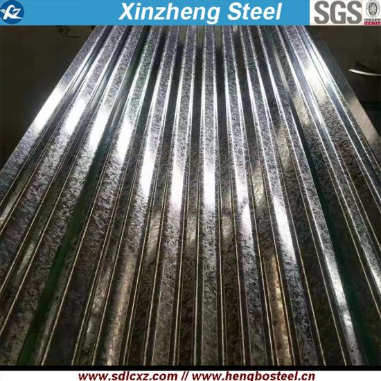 Spangle Galvanized Steel Metal Roofing Sheet