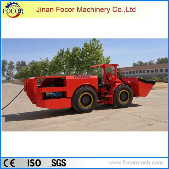 Compact and Flexible Underground Mining Loader Machinery