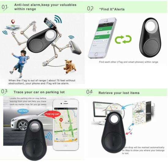 Wholesale Child Bag Wallet Anti-Lost Locator Alarm with Blueooth