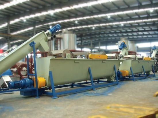 Pet Bottle Flakes Crushing Washing Drying Production Line
