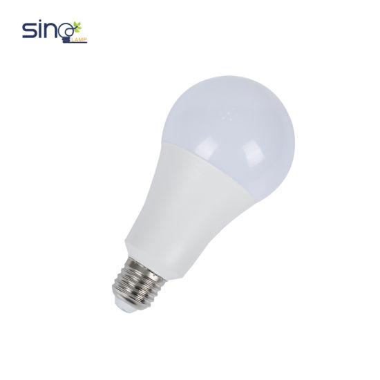 A60 LED Bulb Light E27/B22 Base 9W 100-240V Ce RoHS GS Energy Saving Lamp