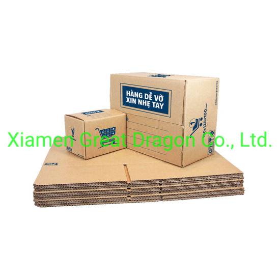 a Wide Variety Sizes of Corrugated Carton Box (CTB028)