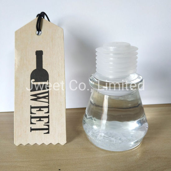 Customized T Shape Crystal Glass Cover for Glass Bottle