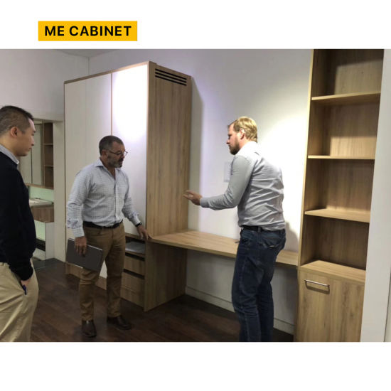 Mecabinet Kitchen Furniture Kitchen Cabinets China Manufacturer OEM/ODM U Style Custom Cabinets Diamond Table Table Material Solid Wood Kitchen Cabinet for Hote