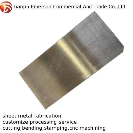 Custom Design Sheet Metal Fabrication Stainless Steel Stamping Welding Parts