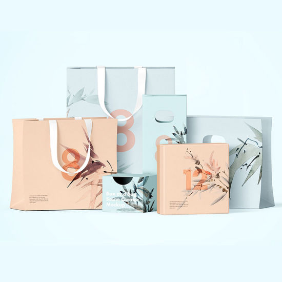 Wholesale Cheap Handle Washable Food Kraft Paper Bags China Manufacturer Custom Logo Print Luxury Clothes Shoes Jewelry Carry Shopping Gift Packaging Paper Bag