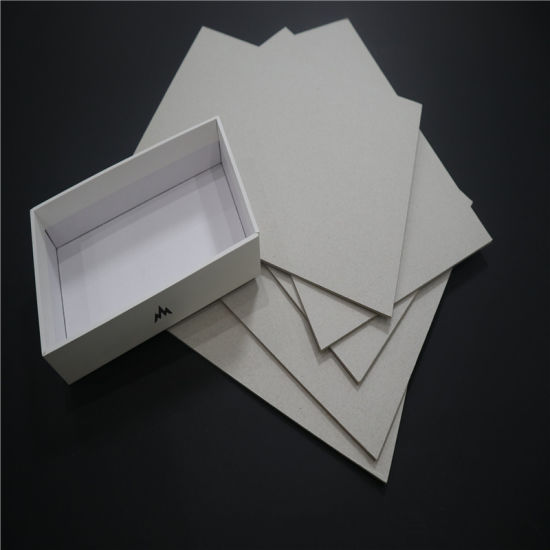 2mm Gray Cardboard Paper for Book Binding and Notebook Cover