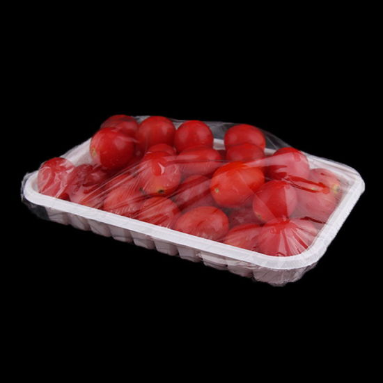 China manufacturer disposable transparent plastic fruit and vegetable packaging tray pictures & photos