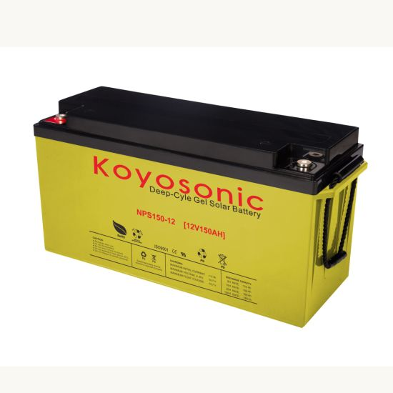 Deep Cycle Gel 12V 150ah Solar Battery Storage Battery