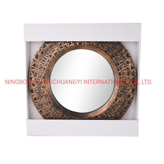 New Antique Style Injection Plastic Mirror for Home Decoration