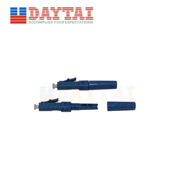 High Quality LC Upc Optical Fiber Fast Connector