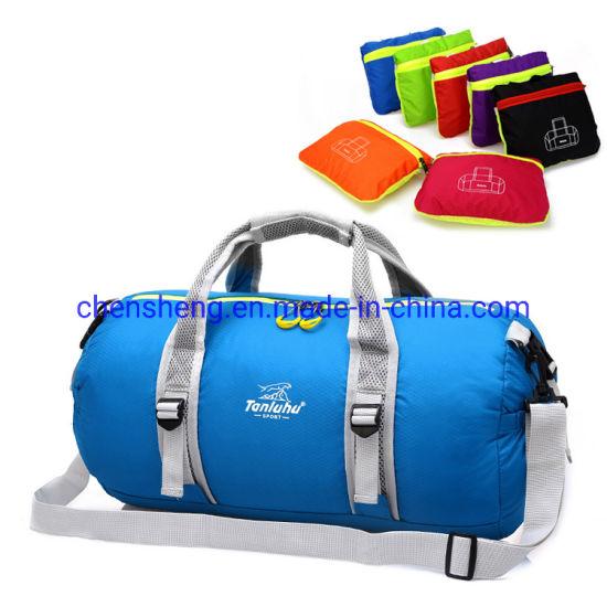 Custom OEM Wholesale Fashion Outdoor Activities Nylon Waterproof Sports Suitcase Travel Bag