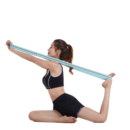 Factory Custom Logo Gym Fitness Yoga Workout Hip Non Slip Elastic Latex Resistance Bands