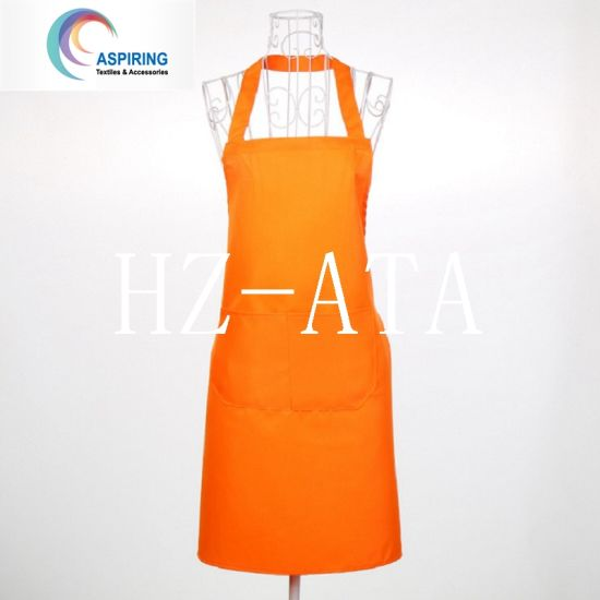 Cheap Wholesale Custom Logo Blank Kitchen Apron for Cooking