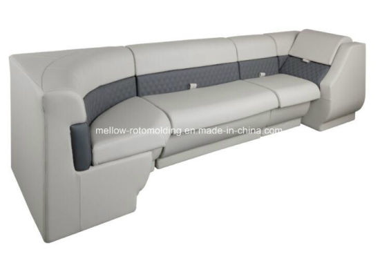 Pontoon Boat Furniture Marine Seat with Rotational Molded PE Material and Marine Grade Vinyl