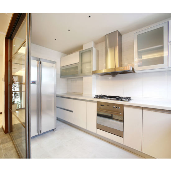 China Factory Stainless Steel Autocad Modern Kitchen Cabinets
