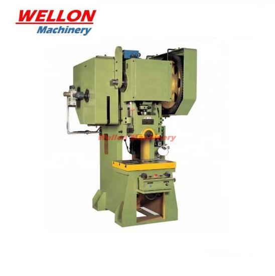 Je21 Series Open-Type, Fix Table Power Press Machine/Mechanical Punching Press