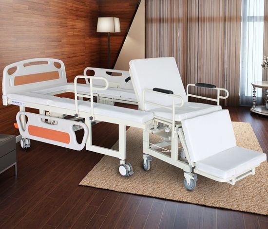 Multifunctional Wheelchair Home Nursing Bed pictures & photos