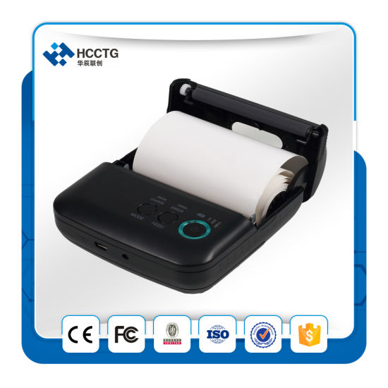 Big Roll Over 100h Standby Portable Bluetooth Direct Line Thermal Printer (HCC-T9BT) pictures & photos
