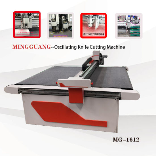 Small Oscillating Knife Cutting Machine for Packing Paper Box Sample Proofing