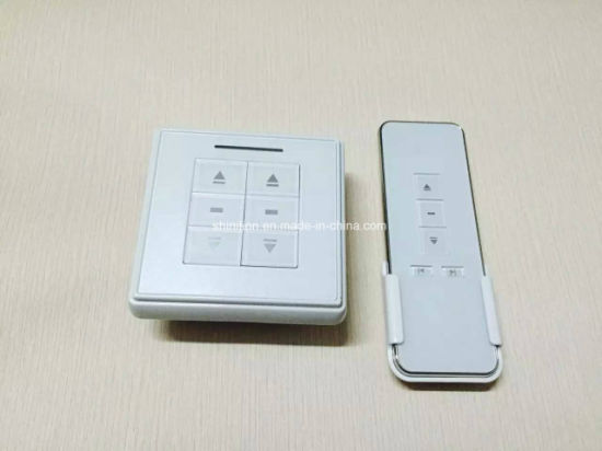 Electric Curtain Transmitter and Wall Curtain Switch pictures & photos
