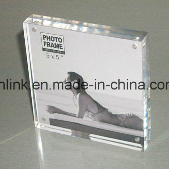 High Transparent Clear Magnetic A5 Acrylic Photo Block
