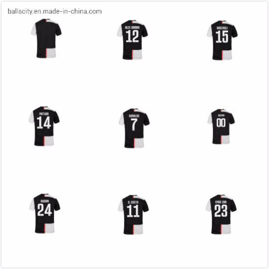 Cheap Price Breathable Juventus C. Ronaldo 2019/20 Soccer Home Men Jerseys