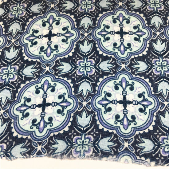 T/C 6535 Light Weight Summer Breathable Custom Printing Dyeing Fabric for Elder