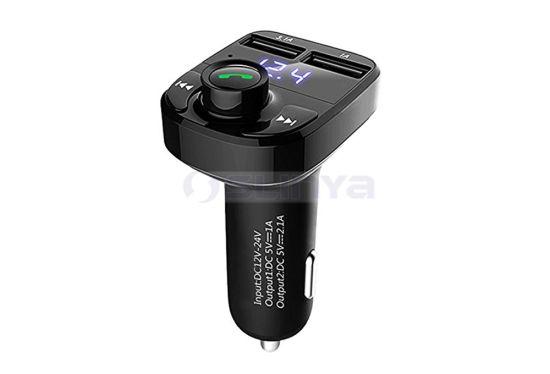 High-End Hands-Free Bluetooth 3.1A Car Dual USB Input MP3 Music Charger Mini Audio Driver Car MP3 Player