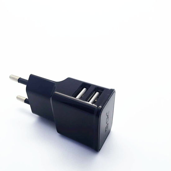 Dual USB Travel USB Charger for All Smart Phones pictures & photos