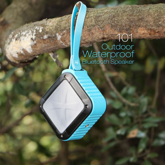 Square Shape Waterproof Mini Portable Wireless Bluetooth Speaker pictures & photos