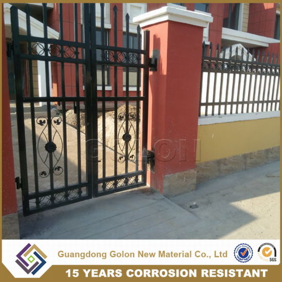 Aluminum Wrought Iron Fencing for Garden Decoration pictures & photos