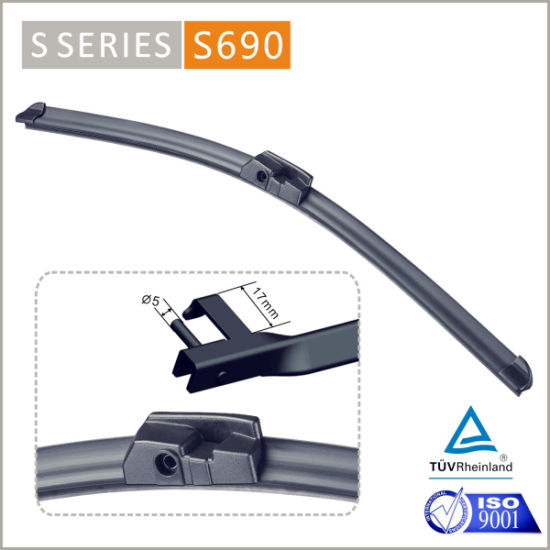 S690 2017 Auto Parts Car Accessories All Season Vision Saver Left Right Hand S40 Dedicated Windshield Clear View Wiper Blade 7 5 Series Exclusive Use Wiper pictures & photos