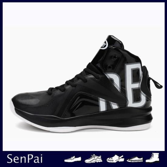 New Arrival PU Footwear Men Sneaker Basketball Shoes