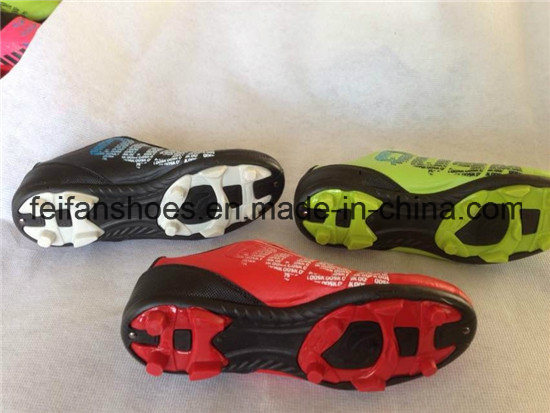 Men Soccer Shoes Sports Football Shoes Wholesale (FFSC1115-02) pictures & photos