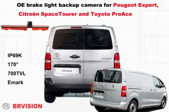 Custom Vehicle Reversing IP Camera for Peugeot Expert pictures & photos