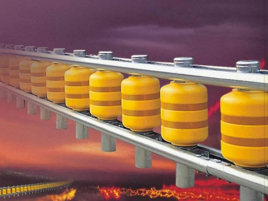 Guardrail Barrier Safety Rollers