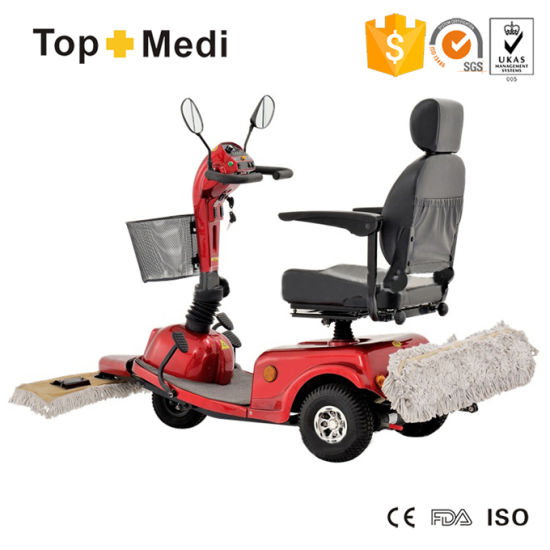 Topmedi Street Sweepers Three Wheel Electric Power Mobility Scooter